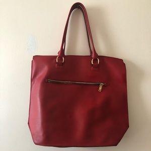 J. Crew Ref Leather Tote Bag